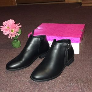 Sugar Brand black ankle  boots